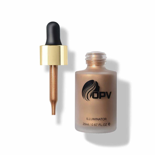 Illuminator Liquid Gold - Bronzers & Highlighters Opv Beauty Free Shipping Somei