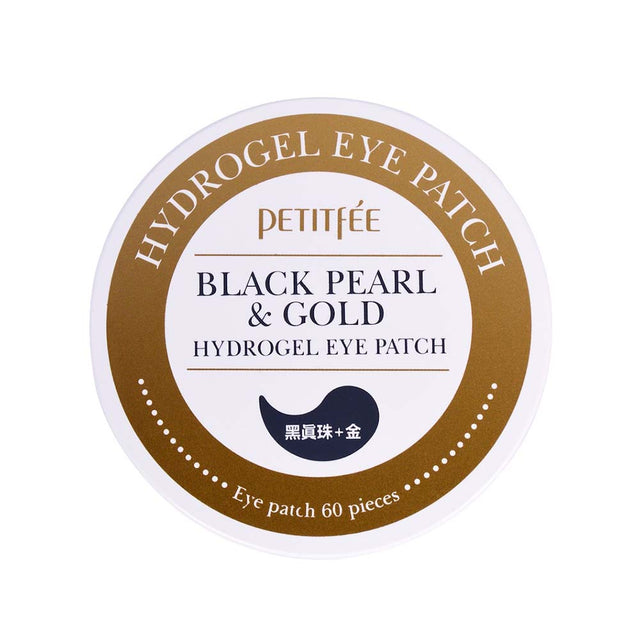 Black Pearl and Gold Eye Patch