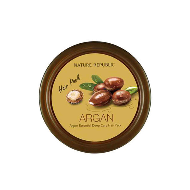 Argan Essential Deep Care Pack - Hair Nature Republic Free Shipping Somei