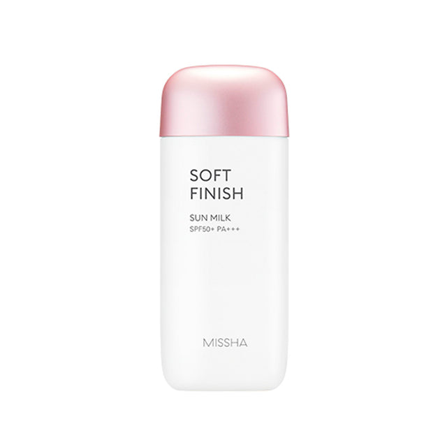 All Around Safe Block Soft Finish Sun Milk Spf 50 - Sun Care Missha Free Shipping Somei