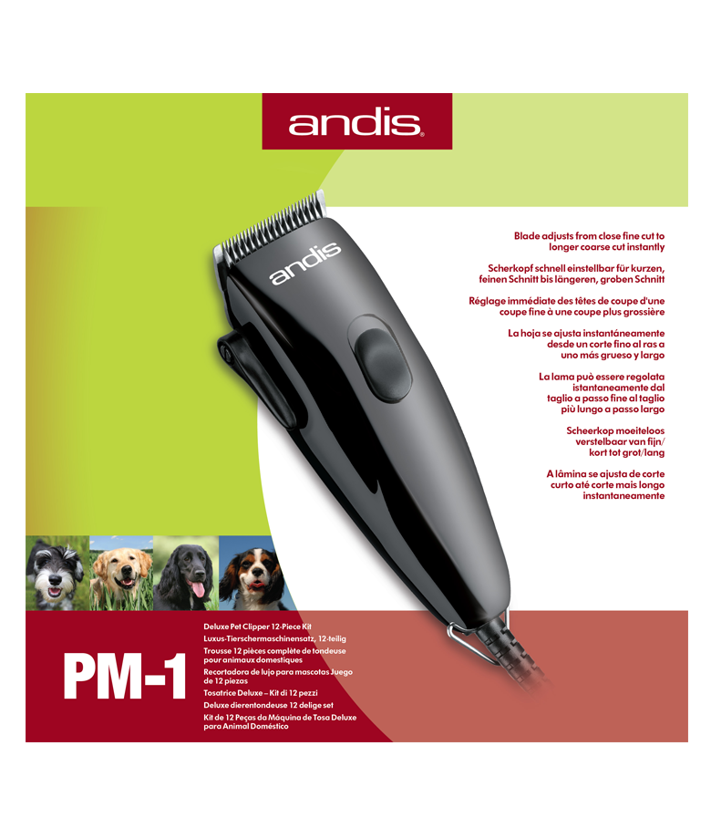 Professionals choose Andis® clippers