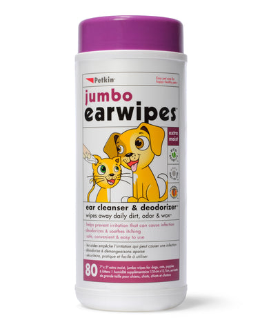 earwipes for dogs, cats