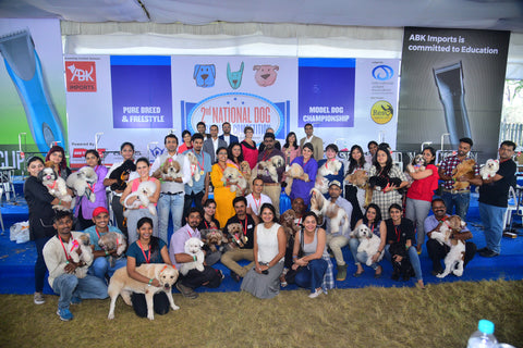2nd National Dog Grooming competition
