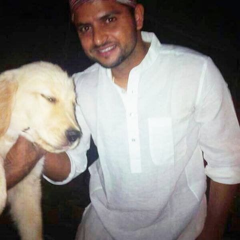 raina and his pet dog