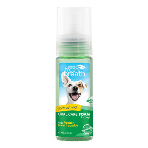 TropiClean Fresh Breath Fresh Mint Foam for Dogs/Cats