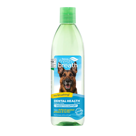 TropiClean Fresh Breath Digestive Support Water Additive for Dogs
