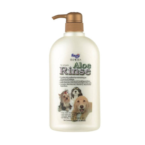 Forbis Aloe Rinse Dog Conditioner, 750 ml