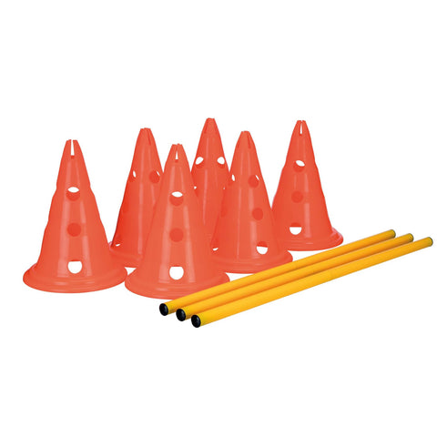 Dog Agility Obstacles (Pylon & Poles), ø23 x 30 cm ,78 cm