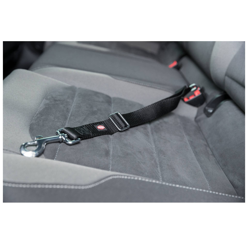 Seatbelt for Car Harnesses, M–L: 45–70 cm/30 mm, Black NEW