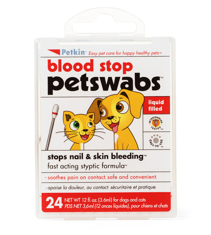Petkin Blood Stop Petswabs - Pack of 2