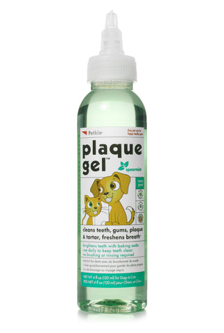 Petkin Plaque Gel Spearmint for Pets