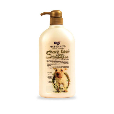 Forbis Short Coat Aloe Dog Shampoo, 750 ml