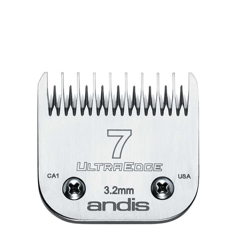 Andis UltraEdge® Detachable Blade, Size 7 Skip Tooth - ABK Grooming Ultraedge Blades, Andis Blades Set, Dog Clippers And Blades, Andis Detachable Blade Set, Dog Trimmer Blades, Dog Grooming Clippers And Blades, Andis Clipper Blades Sizes, Grooming Clipper Blades, Pet Grooming Blades, Blades Grooming, Dog Grooming Blades For Sale,