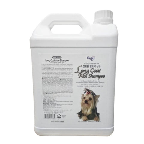Forbis Long Coat Aloe Dog Shampoo, 4 l