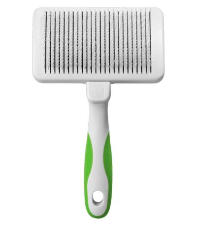 Standard Self-Cleaning Slicker Brush - ABK Grooming Brush Dog, Brush For Dog Hair, Slicker Brush, Cat Brush, Dogs Grooming Brush, Dog Slicker Brush, Grooming Brush, Pet Brush, Cat Grooming Brush, Pet Grooming Brushes, Deshedding Dog Brush, Cat Slicker Brush, Andis Brushless Clippers, Andis Slicker Brush, Brush For Pug, Andis Ultraedge Agc Super 2 Speed Brushless Clipper, Firm Slicker Brush, Large Slicker Brush For Dogs, Grooming Slicker Brush, Andis Ultraedge Brushless, Dog Grooming Slicker Brush,