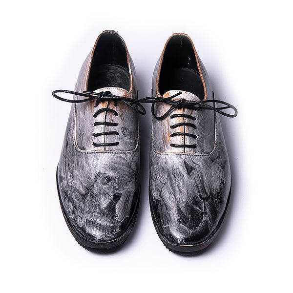 Painted Oxford shoes | Type D | Size EU 39 US(w8.5 m6.5)