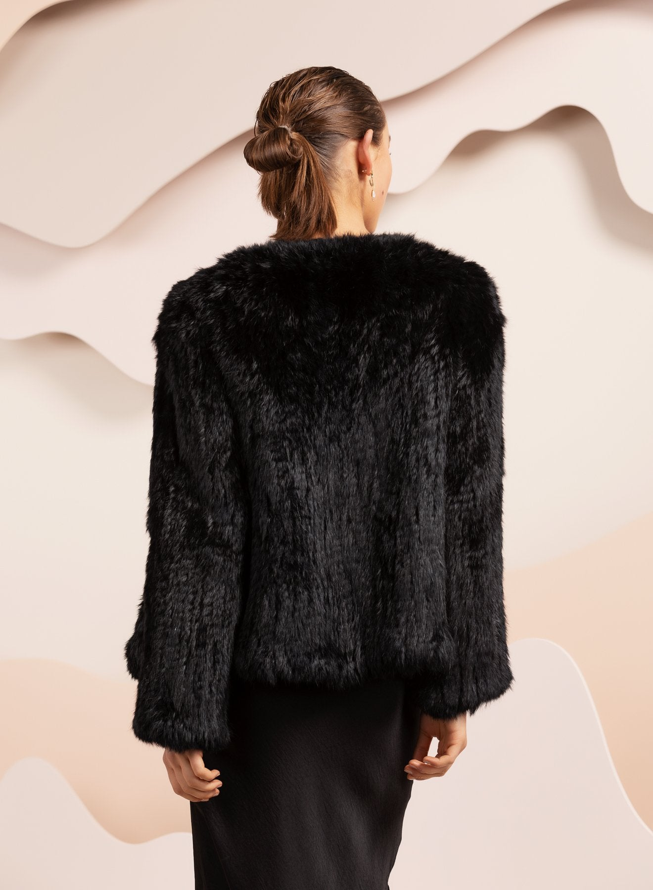 Coletta Black Fur Jacket *2left in stock