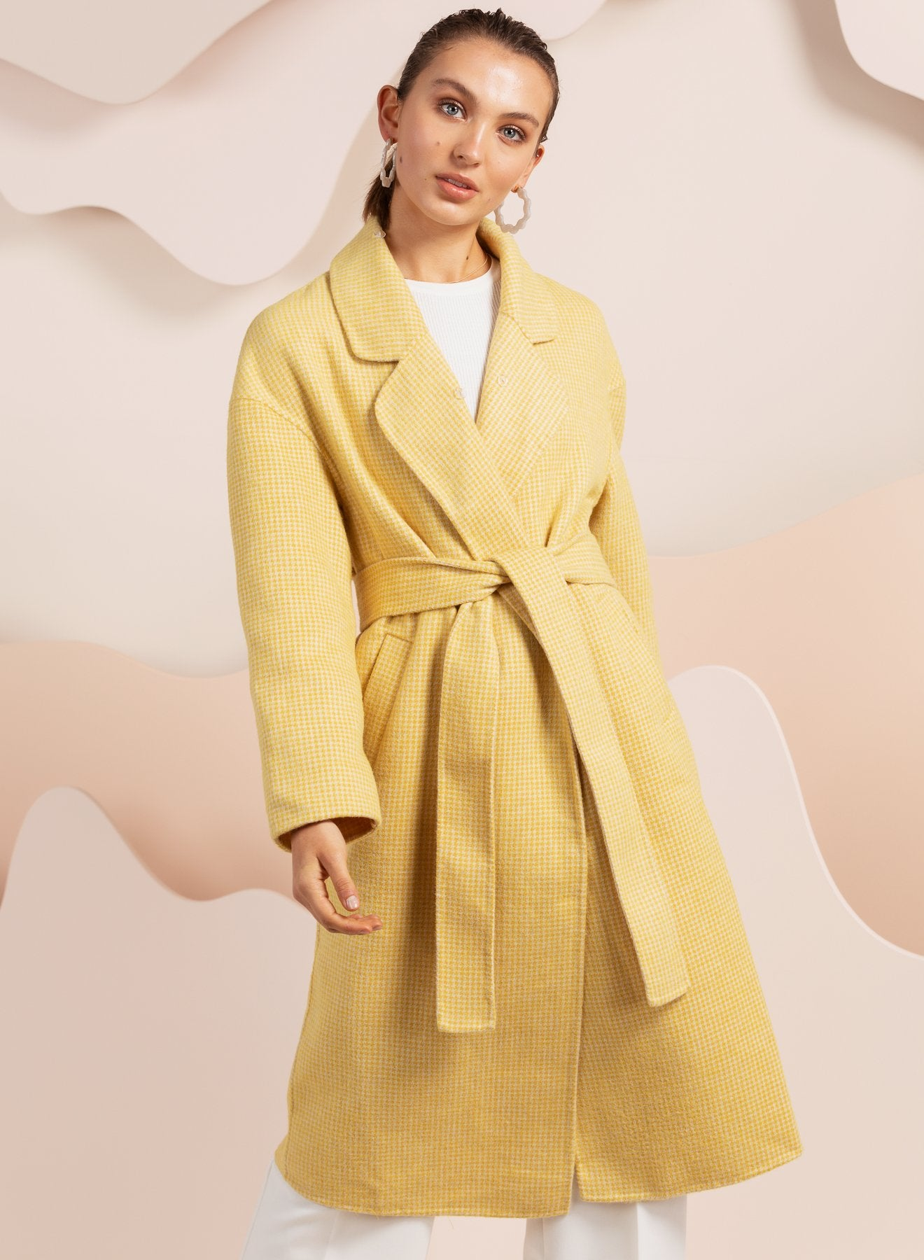 London Coat - Yellow