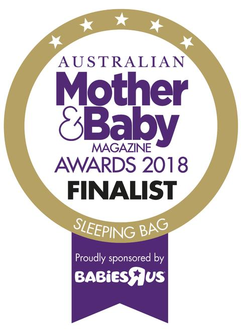 Mother & Baby sleeping bag award 2018 finalist