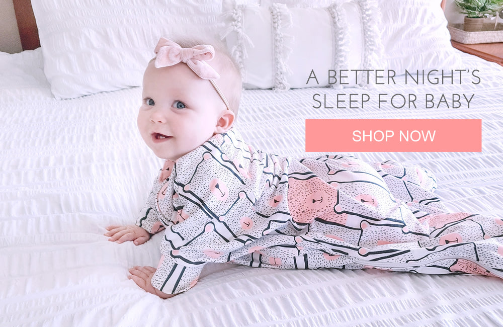 Sleep better in the Sleepy Hugs sleepsuits