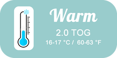 Winter Warm TOG Rating