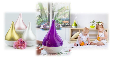 Aroma Bloom, snotty noses, diffuser, ioniser, air purifier.