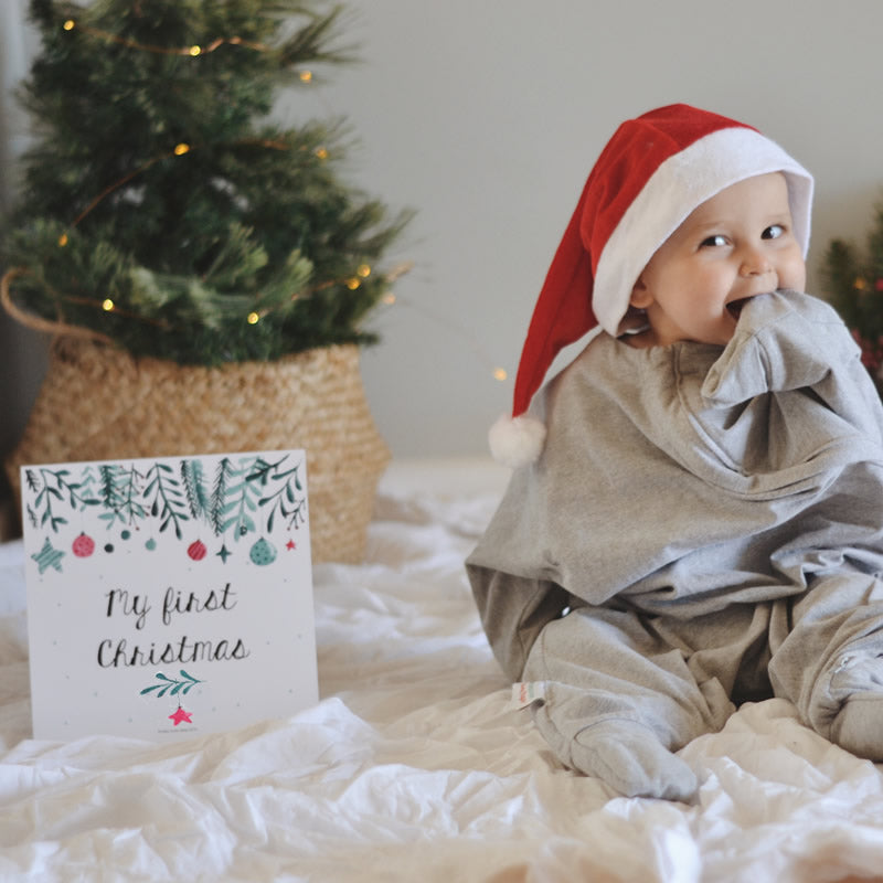 FREE Milestone Card | 'My First Xmas'