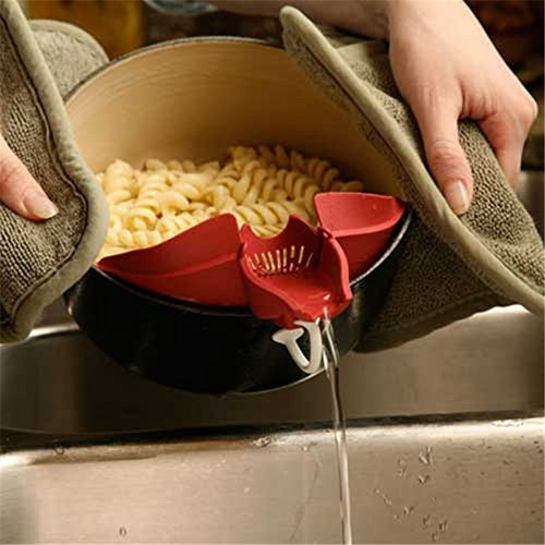 Silicone Multifunctional Funnel Strainer