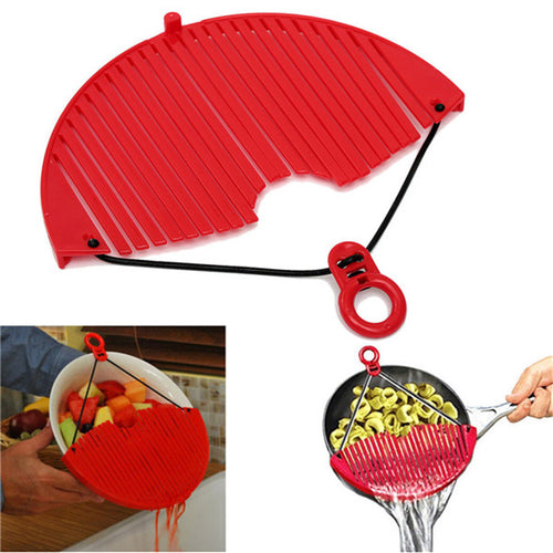 Multifunctional Kitchen Pot Pan Drainer