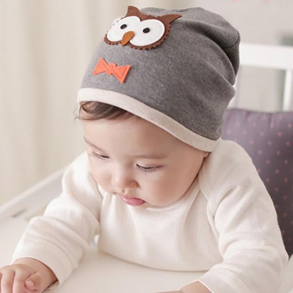8d59182fe5e 6M-2Years New Baby Boys Girl Hat Cotton Blends Caps Newborn Infant Baby Hats  Owl