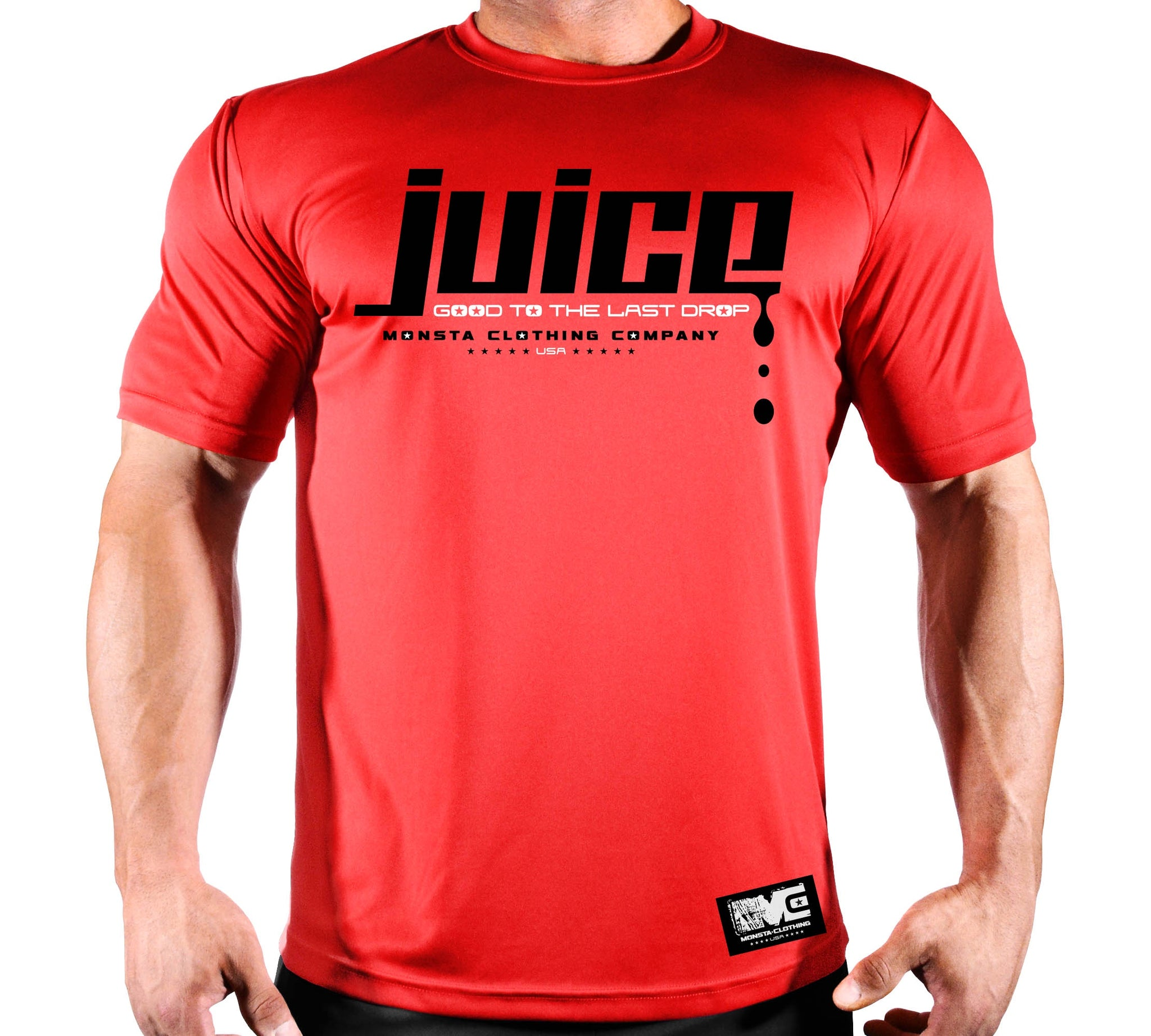 JUICE POLY DRI TEE - Monsta Clothing Australia