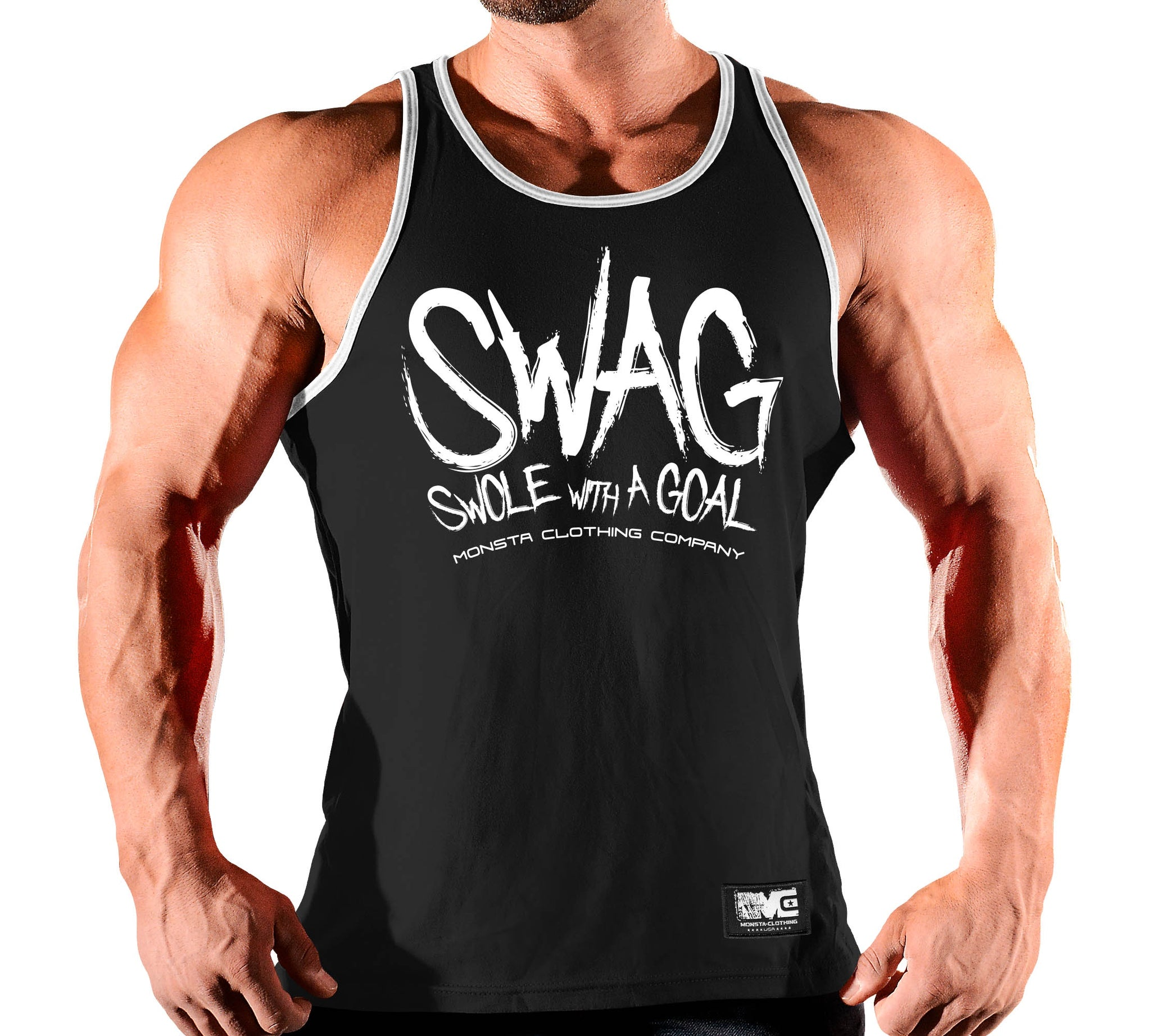 SWAG SWOLE WITH A GOAL 255 - Monsta Clothing Australia