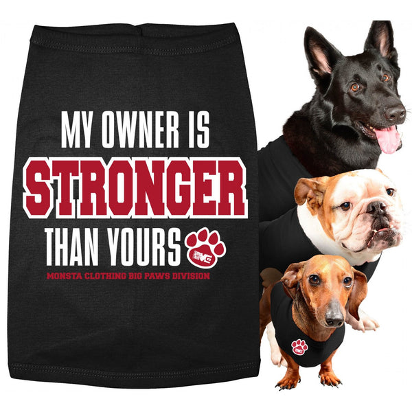 DOG COATS: MY OWNER IS STRONGER THAN YOURS-58 - Monsta Clothing Australia