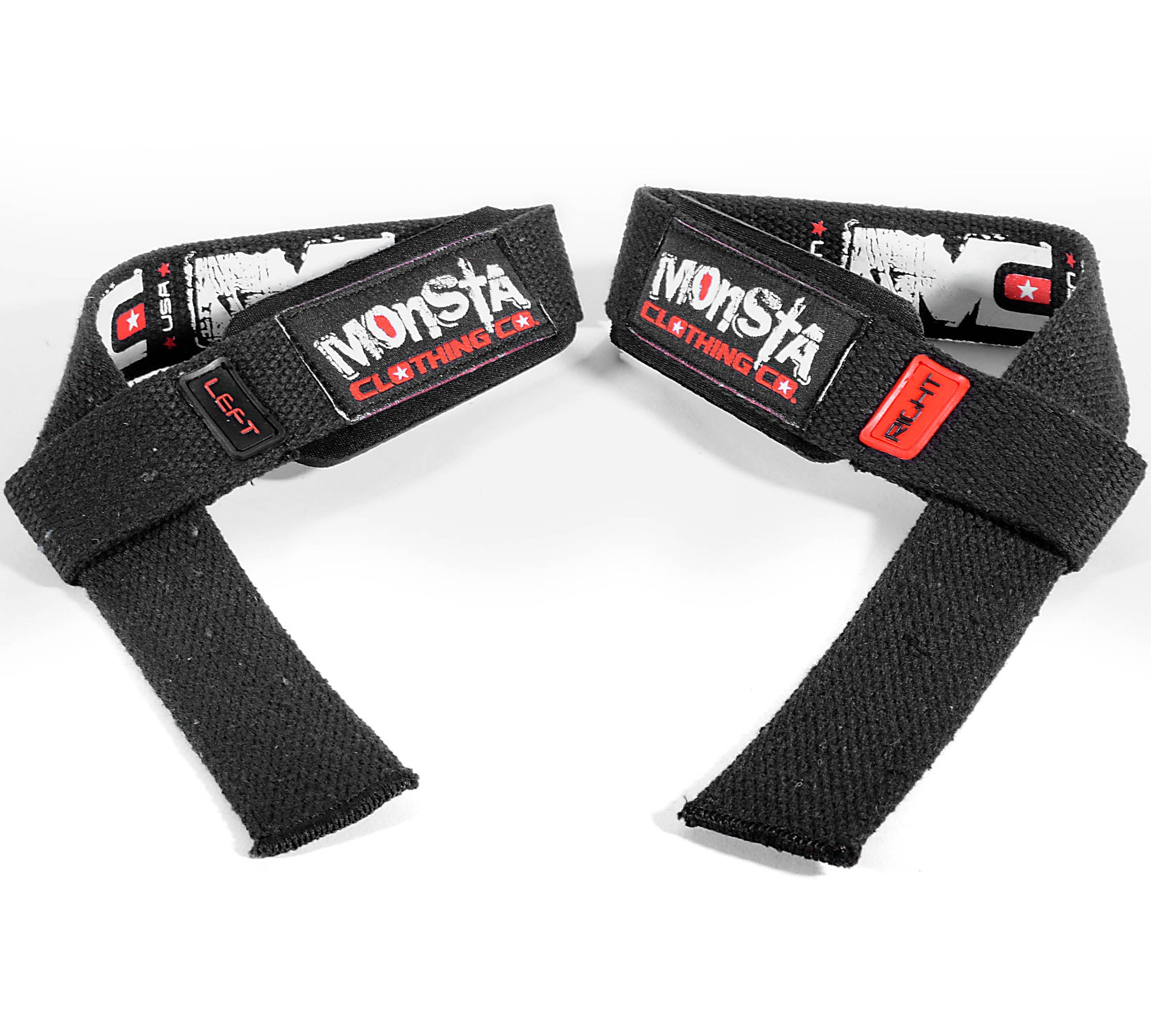 MONSTA MID LEVEL WORK OUT LIFTING STRAPS