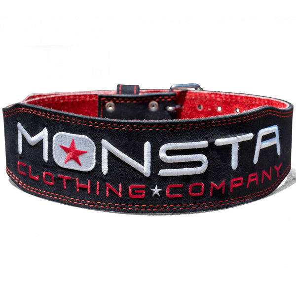 Belt: Monsta weightlifting belt-11 - Monsta Clothing Australia