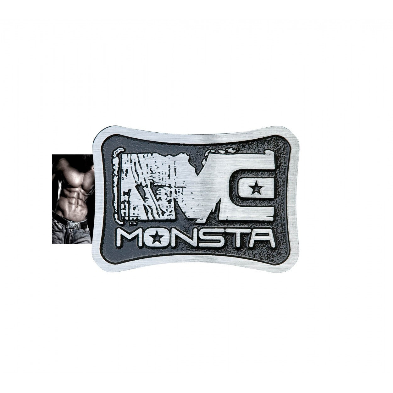 Belt Buckle: Monsta Sculptured - Monsta Clothing Australia