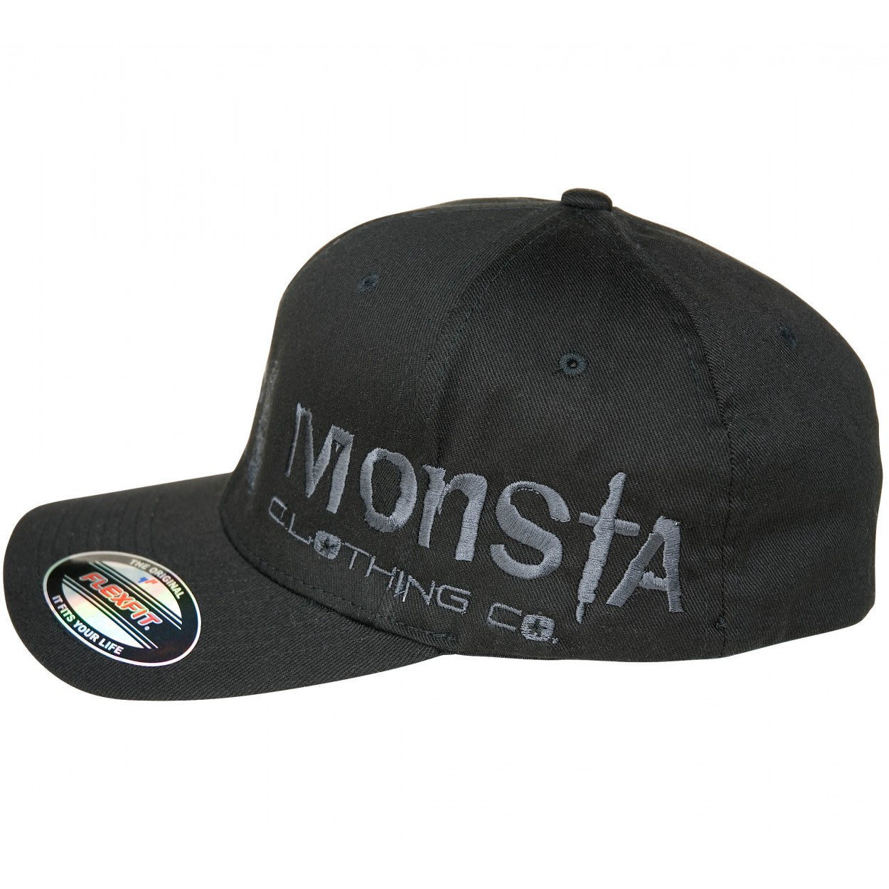 Cap: Flexfit CurvedBill-906 - Monsta Clothing Australia
