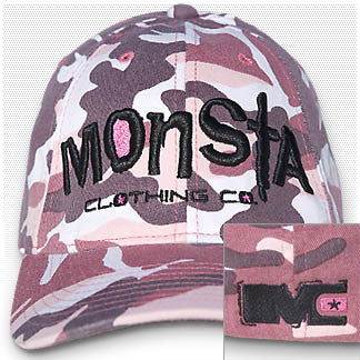 Cap: Ladies Camo - Monsta Clothing Australia