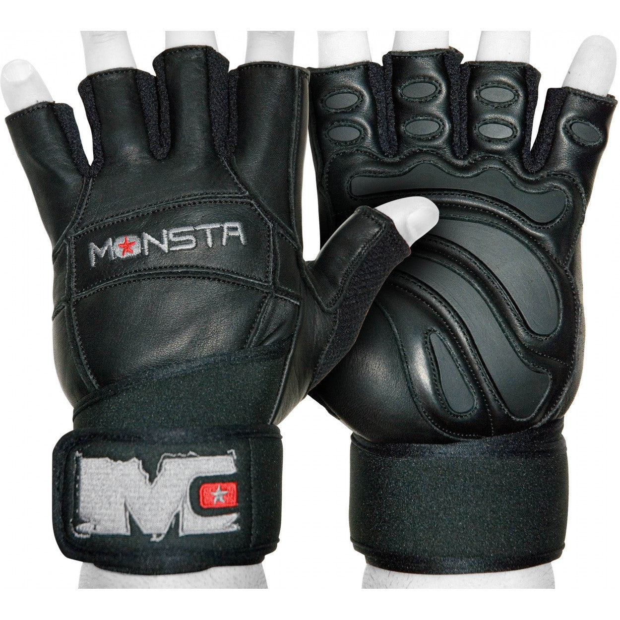 Gloves: Monsta (Wristwrap) - Monsta Clothing Australia