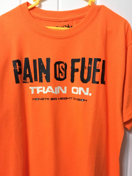Tee: Children Wear Pain is Fuel - Monsta Clothing Australia