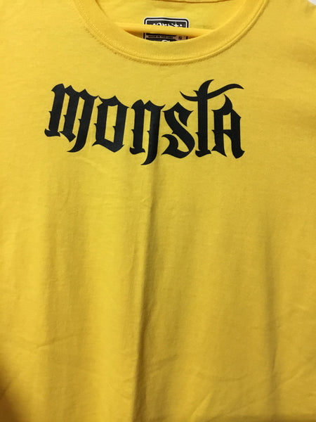 TEE: Monsta Tattoo Script Childrens Tee - Monsta Clothing Australia