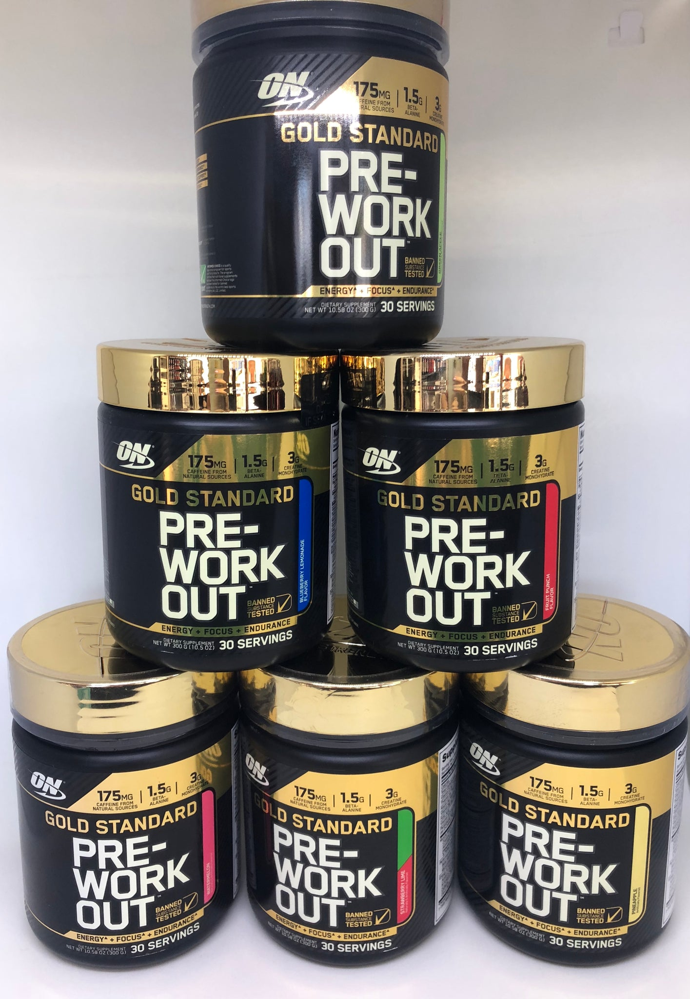 PRE WORKOUT: ON GOLD STANDARD PRE WORKOUT 30 SERVINGS - Monsta Clothing Australia