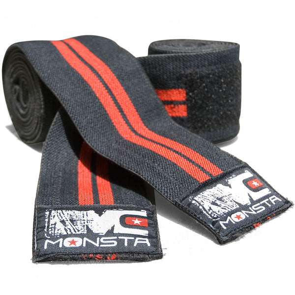 Knee Wraps: Monsta-14 - Monsta Clothing Australia