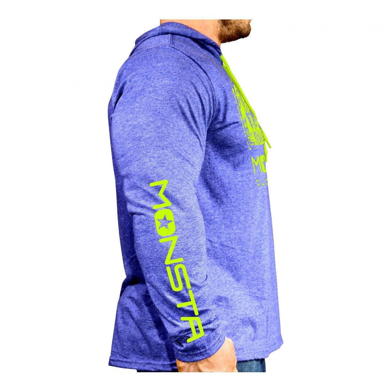 L/Sleeve Hoodie: MC- Monsta-107 - Monsta Clothing Australia