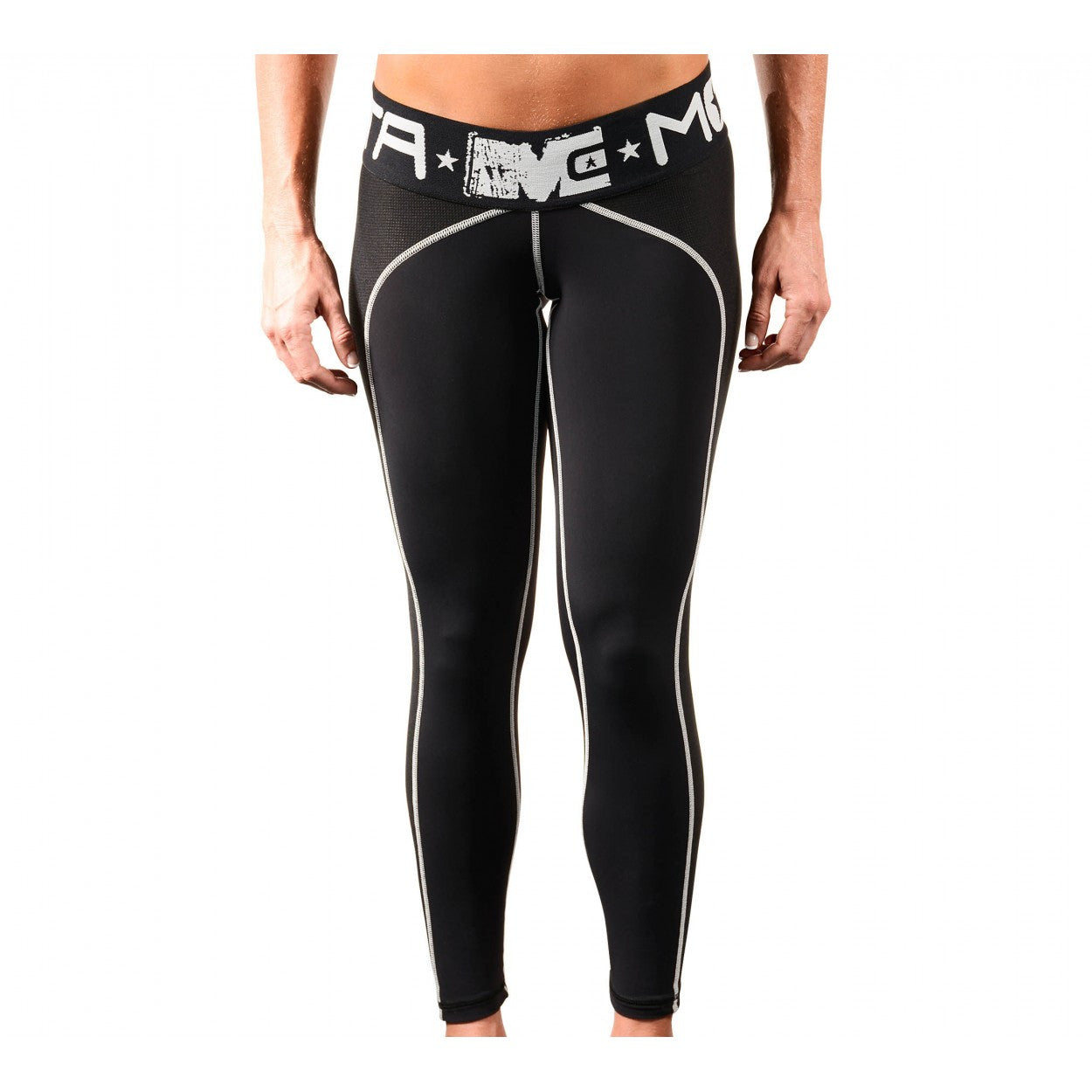Leggings: Respect The Hustle-195 - Monsta Clothing Australia