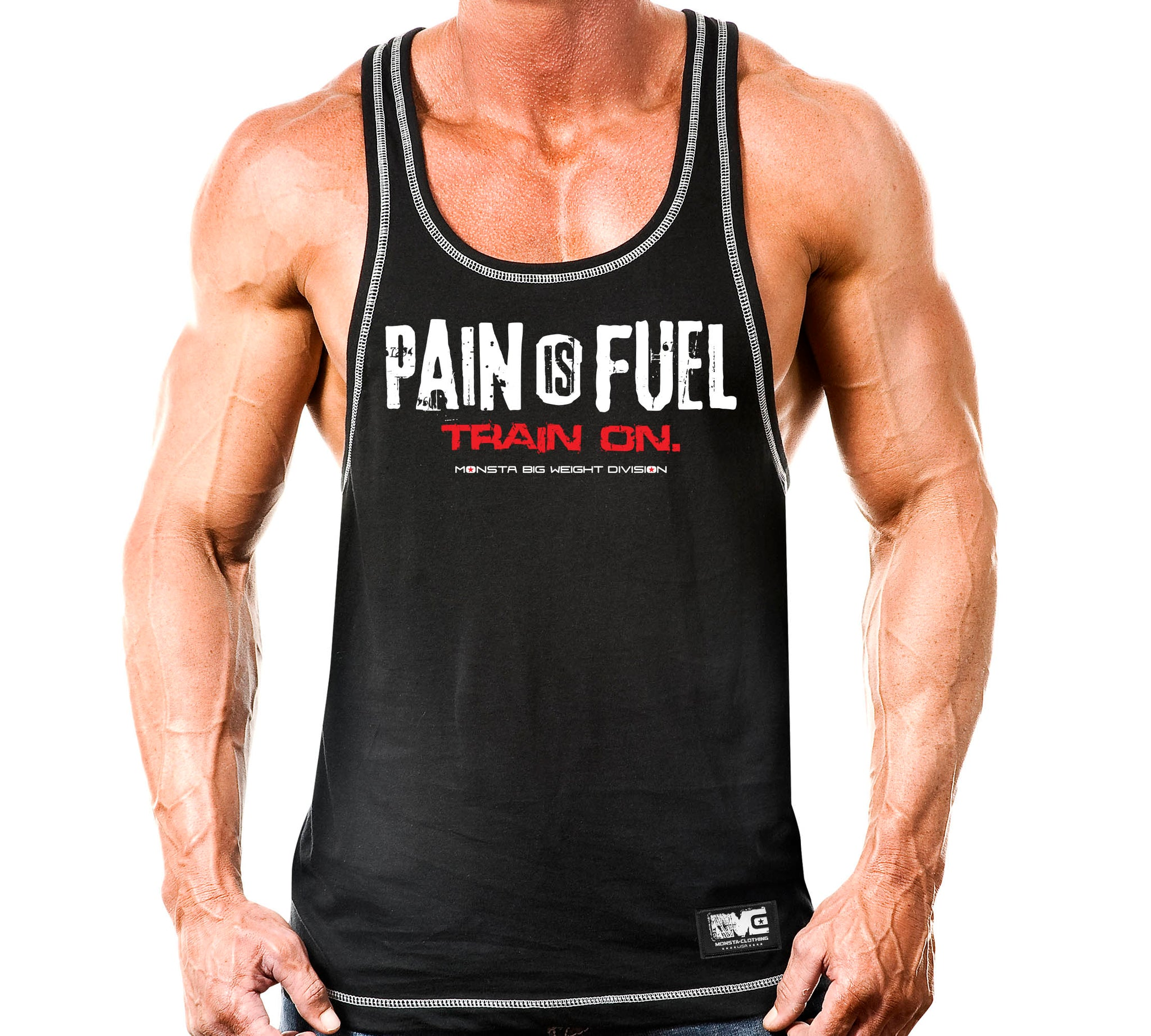PAIN IS FUEL RAZOR - Monsta Clothing Australia