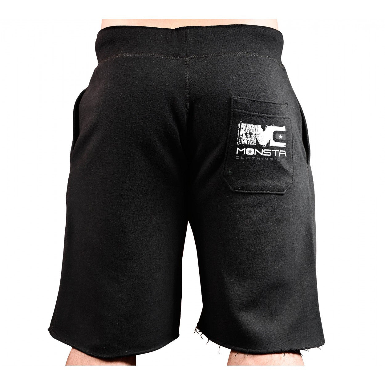 SHORTS: EMBRACE PAIN-EARNING MY STRIPES SWEATSHORTS-190 - Monsta Clothing Australia
