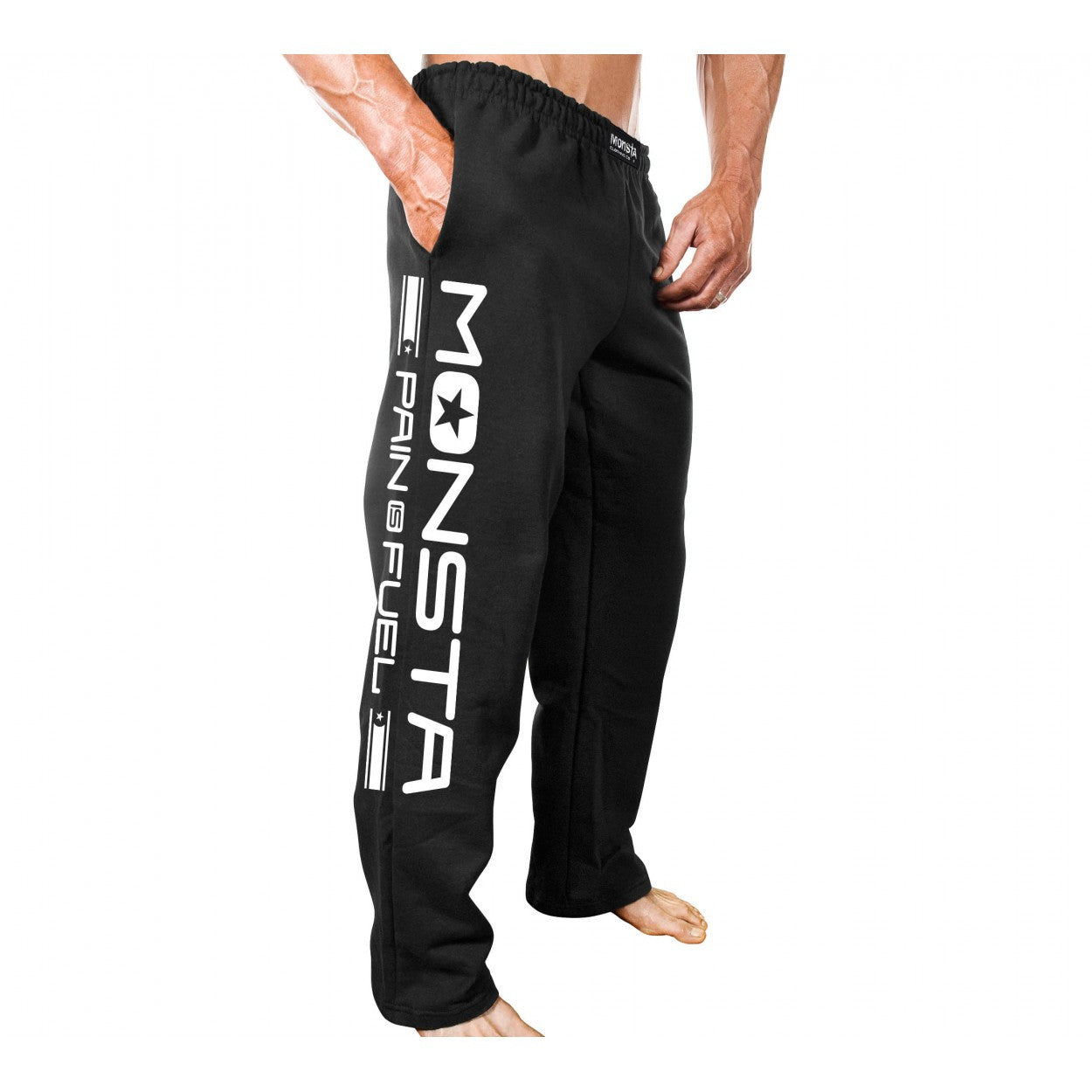 SWEATPANTS: MONSTA PAIN IS FUEL-284 - Monsta Clothing Australia
