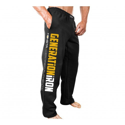 SWEATPANTS: GENERATION IRON-OFFICAL LICENSED - Monsta Clothing Australia