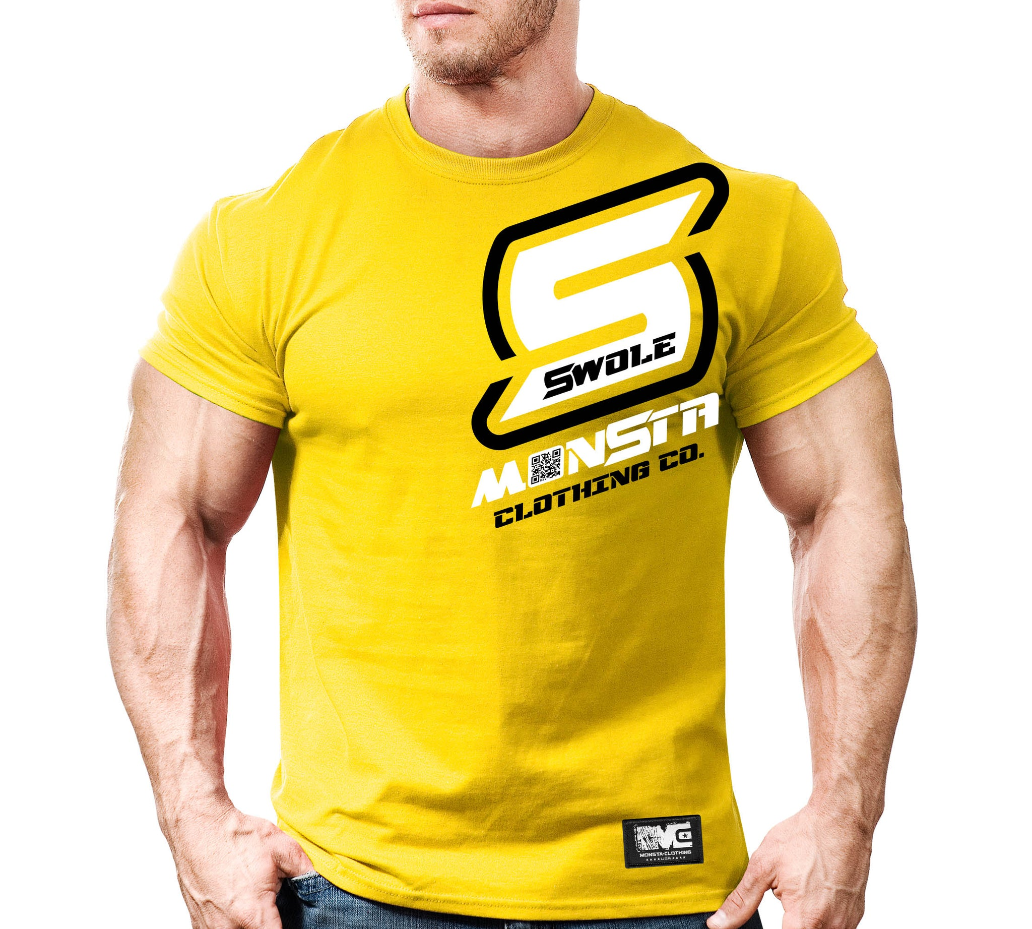 TEE: SWOLE YELLOW
